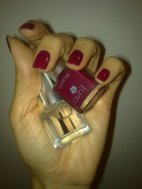 n.26 Bourgogne + top coat Avril