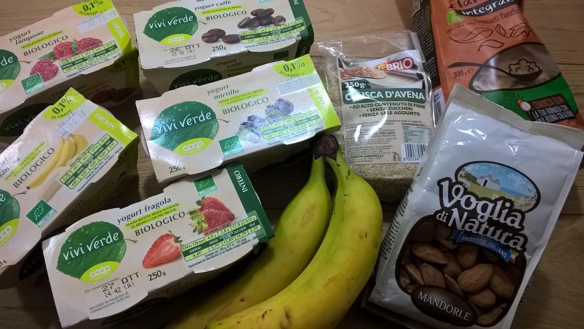 La buona colazione quasi-bio per intestini pigri ;)